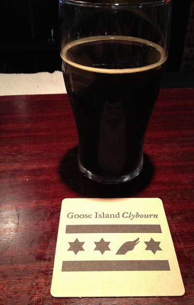Tasty brew from Goose Island Clyburn
