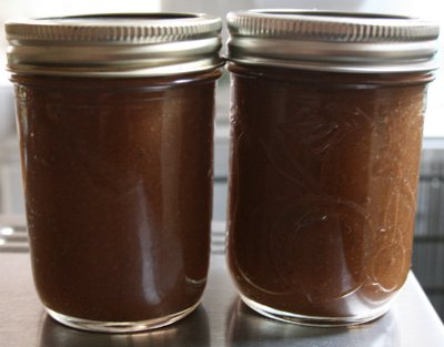 My homemade apple butter