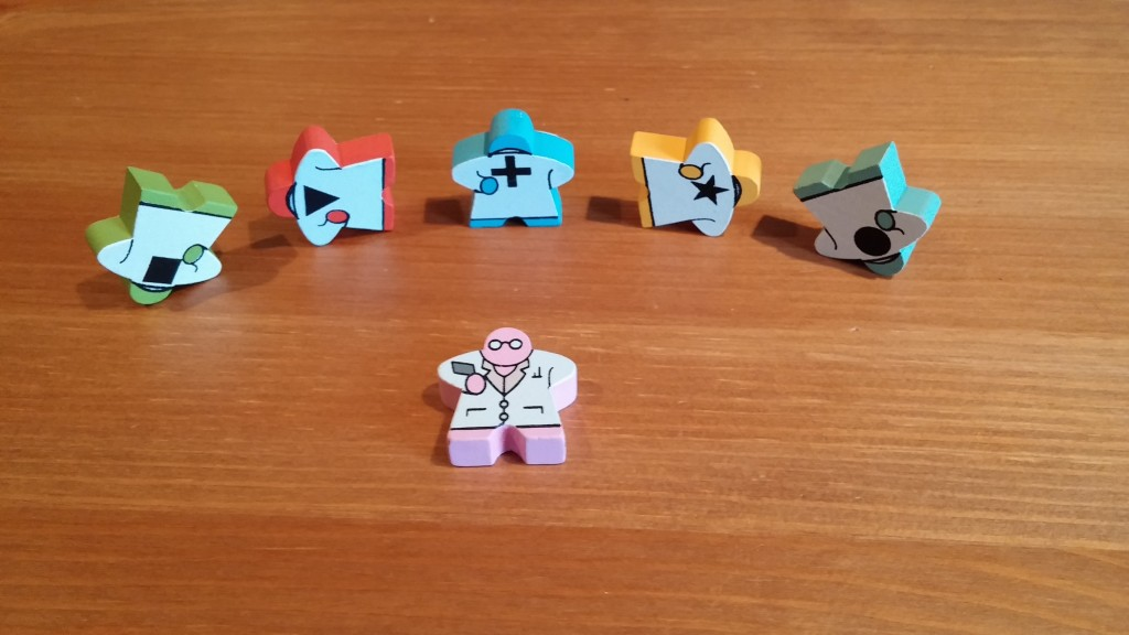 They're cute. They're genderless. They're distinguished & distinguishable! MEEPLES!